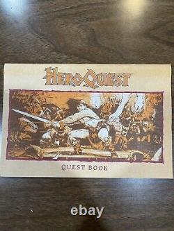Milton Bradley Board Quest Hero Game System 100% Complet Bon État