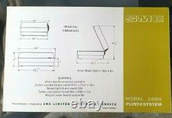 Modèle Pme 2000 Systeme Plinth & Booklet En Box Original V Bonne Condition 1970