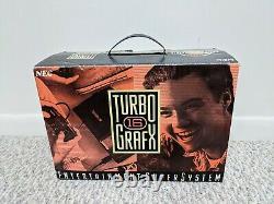 Nec Turbografx-16 Console Complète En Boîte Avec Keith Courage Très Bon État