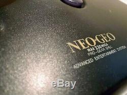 Neo Geo Aes Snk Stick Contrôleur Boxed Neo-aec Très Bon État