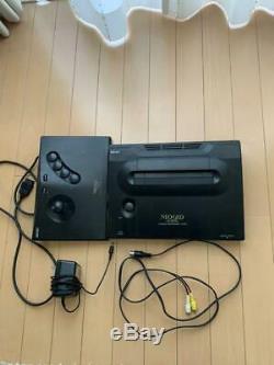 Neo Geo Aes Système Console Japon Bon Etat Complet Grande Boite