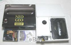 Neogeo Aes Console (boxed Plus 1 Jeux) Condition Bon