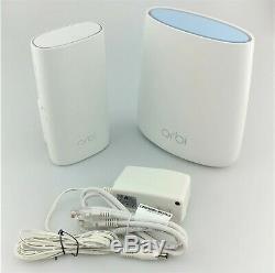 Netgear Rbk20w-100nas Orbi Ac2200 Tri-bande Wi-fi Système In Box Bonne Forme