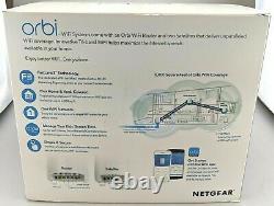 Netgear Rbk43-200nas Orbi Ac2200 Tri-band Home Wi-fi System En Boîte Bonne Forme