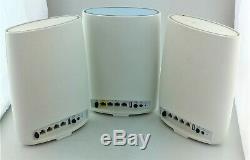 Netgear Rbk53-100nas Orbi Ac3000 Tri-bande Wifi System 3 Pack Bonne Forme