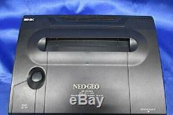 Ng Neo Geo Aes Console (adaptateur Secteur, Câble Av) Contrôleur En Boîte En Bon État