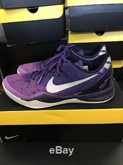 Nike Kobe 8 VIII Système Violet Dégradé Taille Éliminatoire Platinum 9 Bonne Condition
