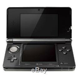 Nintendo 3ds Cosmo Noir Système Portable Très Bon État