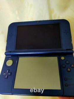 Nintendo 3ds LL Bleu Métallisé Bon État