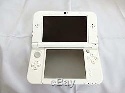 Nintendo 3ds LL Japon Nouvelle XL Console De Jeu White Pearl Occasion Good Condition