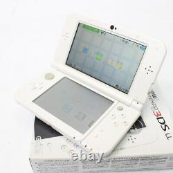 Nintendo 3ds LL XL Pearl White Bon État