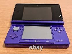 Nintendo 3ds Pourpre / 64 Go / 50+ Jeux / Très Bon État