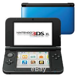 Nintendo 3ds XL Blue & Black System Portable Très Bon État
