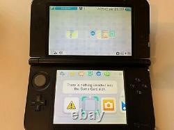 Nintendo 3ds XL Console Noire Très Bon État