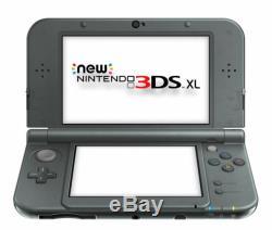 Nintendo 3ds XL Noir Système Handheld Très Bon État