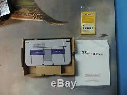 Nintendo 3ds XL Nouveau Super Nintendo Edition Avec La Boîte Originale Bon État
