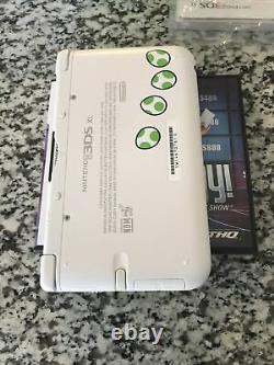 Nintendo 3ds XL Yoshi Edition Complet Avec Console Boîte Bonne Forme