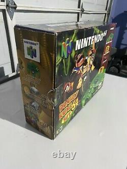 Nintendo 64 Console Donkey Kong (utilisée) Bon État