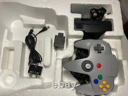 Nintendo 64 Console Livré Complet Très Bon État
