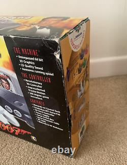 Nintendo 64 N64 Goldeneye Console Boxed Complete Good Condition Working
