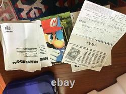 Nintendo 64 Raisin Funtastic Console, Cib, Testé, Très Bon État