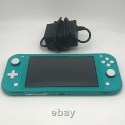 Nintendo Basculez Lite Bleu 32go Très Bon État Avec Box + Cordon D'alimentation
