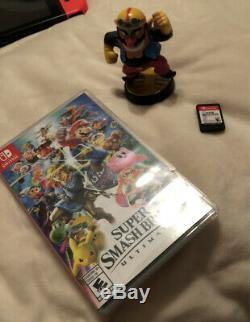 Nintendo Commutateur Bundle 3 Jeux, Case, Contrôleur Pro Bon État Factory Reset
