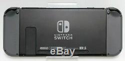 Nintendo Console Commutateur 32 Go Gris Gris Joy-cons Bonne Forme