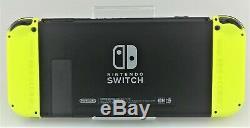 Nintendo Console Commutateur 32go Gris Neon Yellow Joy-cons Bonne Forme