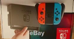 Nintendo Console Commutateur 32go Neon. Utilisé Très Bon État. Version Ancienne Batterie