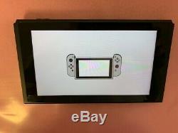 Nintendo Console Switch 32gb Uniquement Non Corrigées / Abrégeable Bon État Hac-001