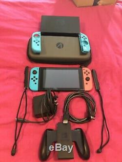 Nintendo Console Switch En Bon État D'occasion Non Corrigées (xaj700187)