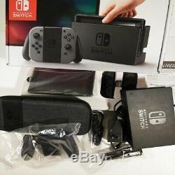 Nintendo Console Switch Gris (bon Condition!)