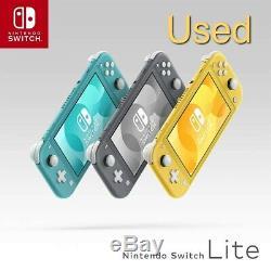 Nintendo Console Switch Lite Occasion Good État Avec Chargeur Ac