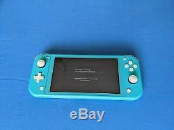 Nintendo Console Switch Lite Turquoise (très Bon État)