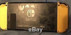 Nintendo Console Switch Permet Système Go Utilisé Bonne Condition Usure Normale