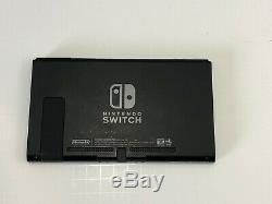 Nintendo Console Switch Seulement 32gb Black Bonne Condition