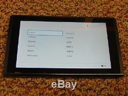 Nintendo Console Switch Uniquement 32go Noir -bonne Condition & Works Parfait