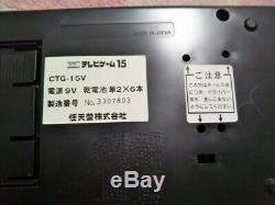 Nintendo Ctg-15v Tv-jeu 15 Console Withbox Japon Très Bon État Fonctionne Bien