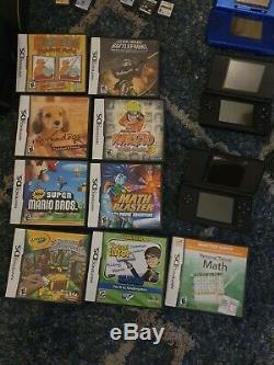 Nintendo Ds Lite Et 3x Ds Console Portable Bonne Condition Avec Des Jeux Lot