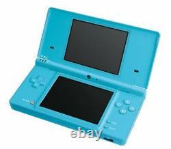 Nintendo Dsi Console Blue (bleu Clair) Avec Stylet Et Chargeur Bon État