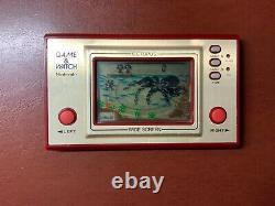 Nintendo Game And Watch -mickey/ Octopus- Bon État De Fonctionnement Japon F/s