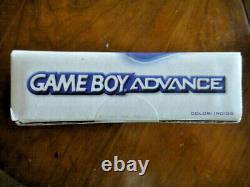 Nintendo Game Boy Advance Glacier Scellé Dans La Boîte D'origine En Bon État
