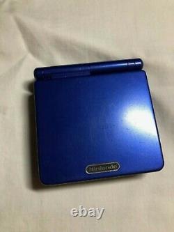 Nintendo Game Boy Advance Sp Cobalt Blue Avec Chargeur Utilisé Bon État