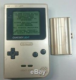 Nintendo Game Boy Light Gold Jeu Vidéo Utilisé Bon État Du Japon