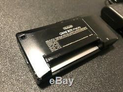 Nintendo Game Boy Micro Console Noir Avec Chargeur Bon État