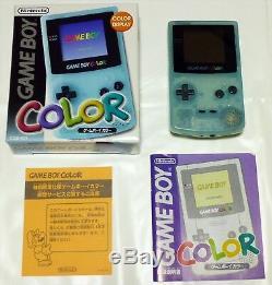 Nintendo Game Boy Toys R Us Couleur Limitée Ice Blue Console Très Bon État