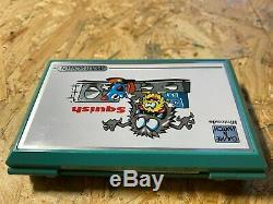 Nintendo Game Montre Ecraser Mg-61 Boxed Bon État