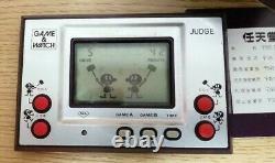 Nintendo Game & Watch Judge Boxed 1981 Testé Bon État