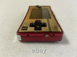 Nintendo Gameboy Micro 20th Anniversary Edition Famicom Très Bon État